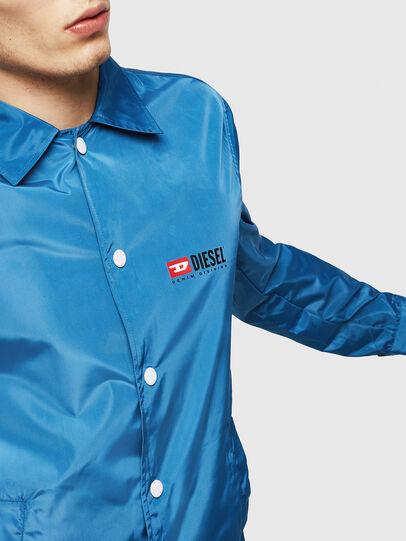 Diesel - J-ROMAN-P, Blue - Jackets - Image 3
