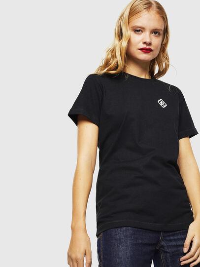 Diesel - CC-T-DIEGO-COLA, Black - T-Shirts - Image 3