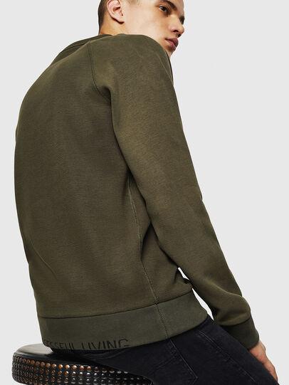 Diesel - S-KOBLER, Military Green - Sweatshirts - Image 5