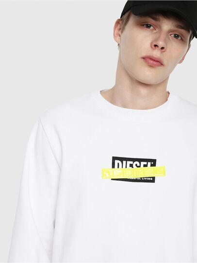 Diesel - S-GIR-DIE, White - Sweatshirts - Image 3