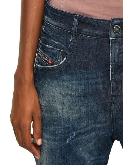 Diesel - Fayza Boyfriend JoggJeans® 09B50, Dark Blue - Jeans - Image 3