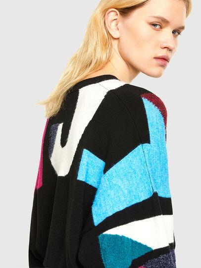 Diesel - M-MYSTIC, Black - Sweaters - Image 3