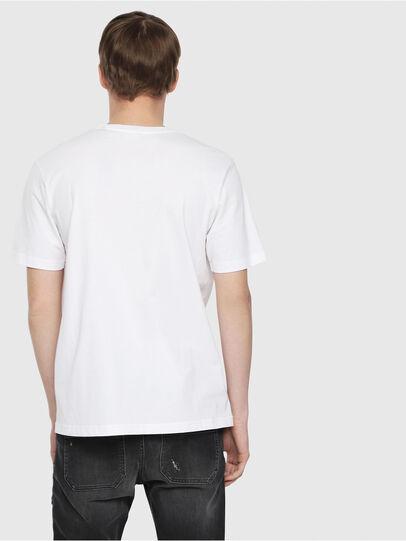 Diesel - T-JUST-DIE, White - T-Shirts - Image 2