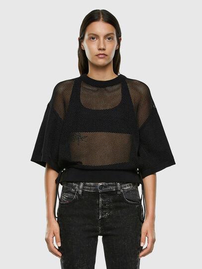 Diesel - M-ROSSI, Black - Sweaters - Image 5