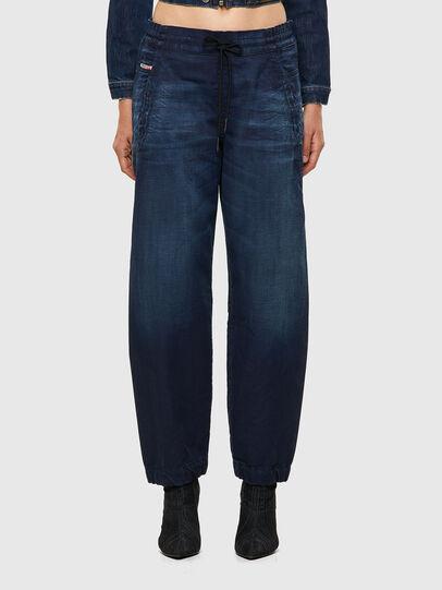 Diesel - Krailey Boyfriend JoggJeans® 069WS, Dark Blue - Jeans - Image 1
