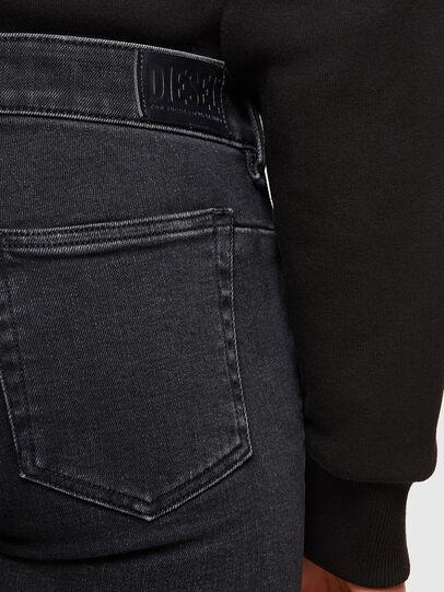 Diesel - D-Jevel Slim Jeans 0870G, Black/Dark Grey - Jeans - Image 4
