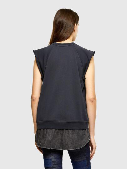Diesel - F-ELPA, Black - Sweatshirts - Image 2