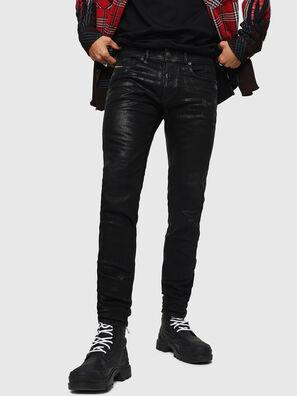 Sleenker 0091F, Black/Dark Grey - Jeans