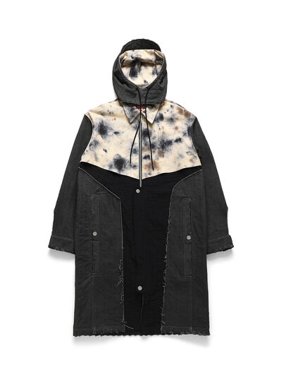 Diesel - ACW-JK02, Black - Denim Jackets - Image 1