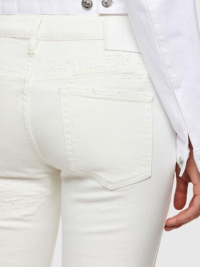 Diesel - D-Rifty Slim Jeans 009VU, White - Jeans - Image 4