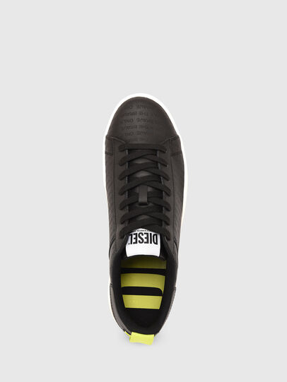 Diesel - S-CLEVER LOW LACE, Black/Yellow - Sneakers - Image 6