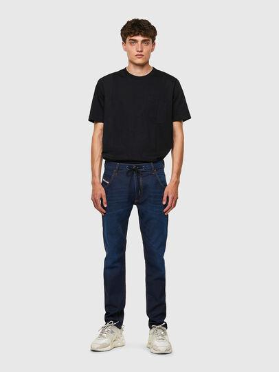 Diesel - Krooley Tapered JoggJeans® Z69VZ, Dark Blue - Jeans - Image 5