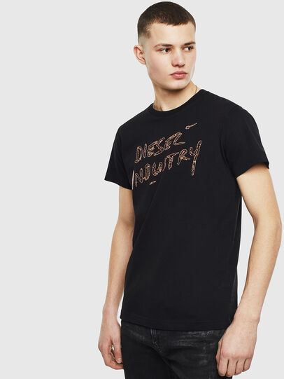 Diesel - T-DIEGO-S15, Black - T-Shirts - Image 1