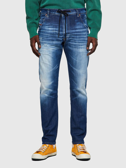 Diesel - Krooley Tapered JoggJeans® 09B52, Medium Blue - Jeans - Image 1