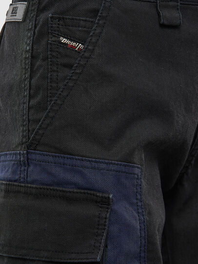Diesel - D-Kiki JoggJeans® 009KM, Negro/Gris oscuro - Vaqueros - Image 5