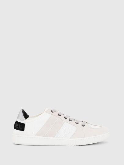 Diesel - S-MILLENIUM LC, White/Pink - Sneakers - Image 1