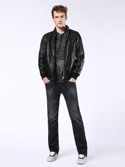 Diesel - Viker U0823, Black/Dark Grey - Jeans - Image 5
