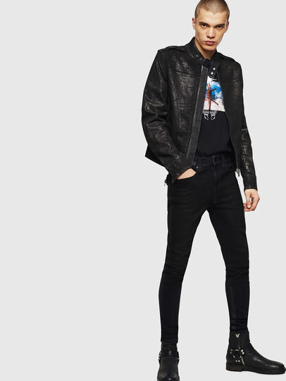 Diesel - D-JEI-SP JOGGJEANS, Black - Denim Jackets - Image 7