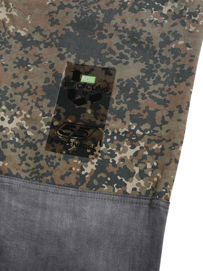 Diesel - D-ONT-HURT-ME, Green Camouflage - Pants - Image 7