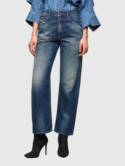 Diesel - D-Reggy Straight Jeans 009UD, Dark Blue - Jeans - Image 1