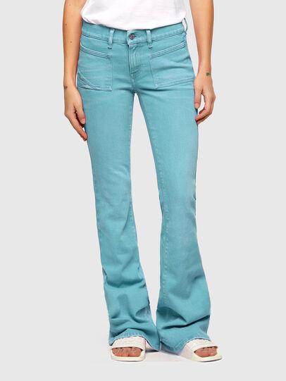 Diesel - D-Ebbey Bootcut Jeans 009VA, Blue - Jeans - Image 1