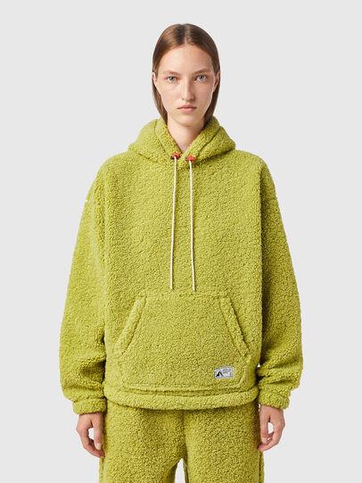 Diesel - S-UMMEREDDY, Yellow - Sweatshirts - Image 2