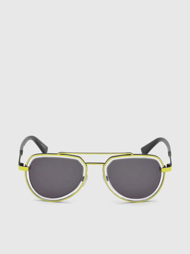 DL0266, Yellow - Sunglasses