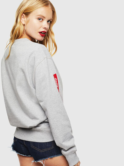 Diesel - CC-S-BAY-COLA, Grey - Sweatshirts - Image 4