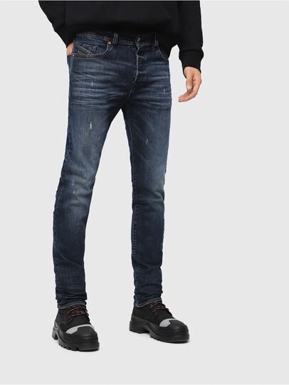 Diesel - Buster C87AT, Dark Blue - Jeans - Image 1