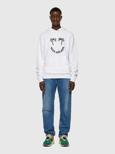 Diesel - S-GIRK-HOOD-B1, White - Sweatshirts - Image 5