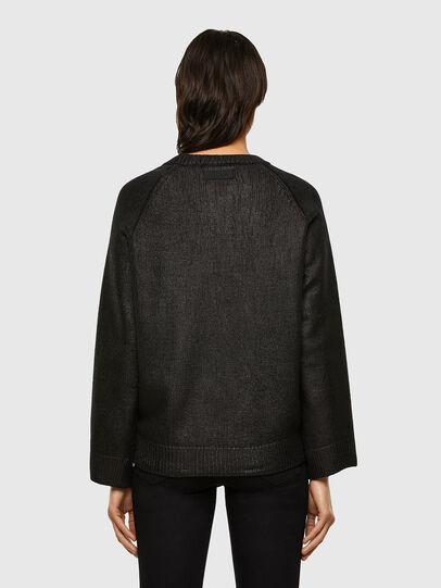 Diesel - M-NADYA, Black - Sweaters - Image 2