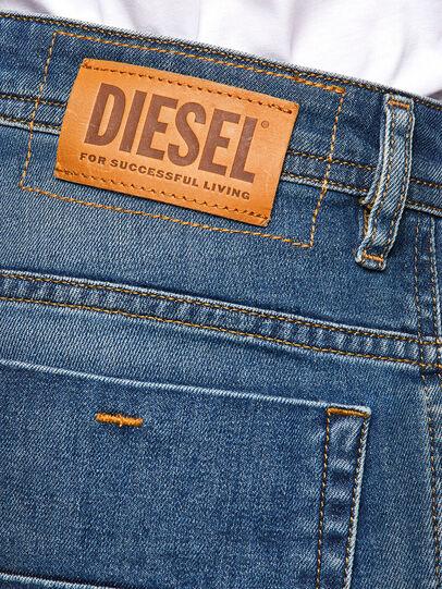 Diesel - Thommer Slim Jeans 009EI, Medium Blue - Jeans - Image 4