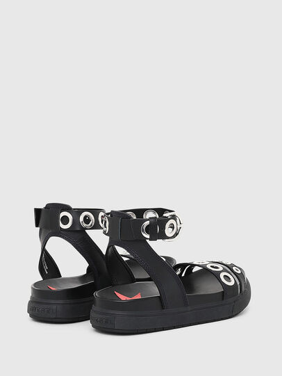Diesel - SA-GRAND LCE, Black - Sandals - Image 3