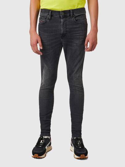 Diesel - D-Istort Skinny Jeans 069YC, Black/Dark grey - Jeans - Image 1