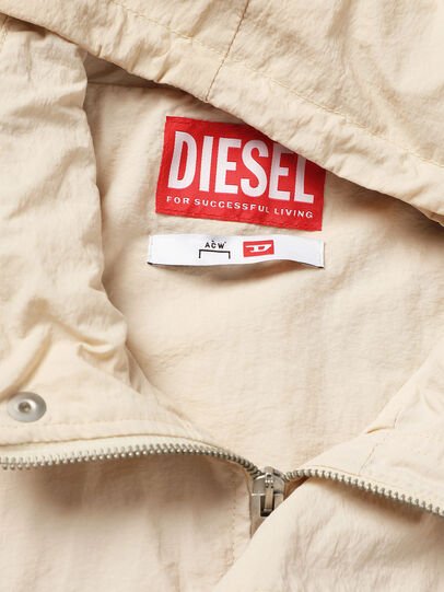 Diesel - ACW-JK03, White - Denim Jackets - Image 4