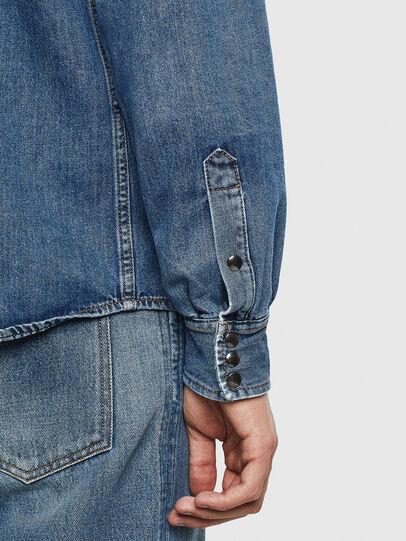 Diesel - D-WEAR-B, Blue Jeans - Denim Shirts - Image 8