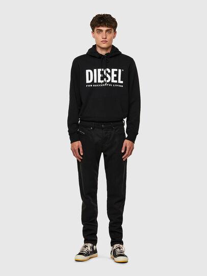 Diesel - D-Strukt JoggJeans® 069NC, Negro/Gris oscuro - Vaqueros - Image 5