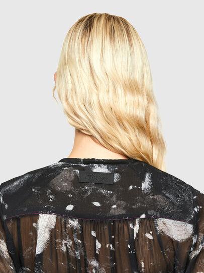Diesel - D-HINES-A, Black - Dresses - Image 4