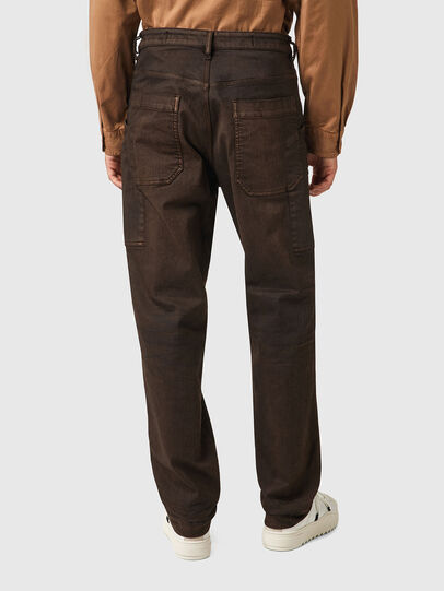 Diesel - D-Franky Straight Jeans 09B38, Brown - Jeans - Image 2