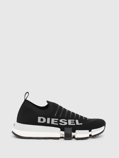 Diesel - H-PADOLA LOW SOCK W, Black - Sneakers - Image 1