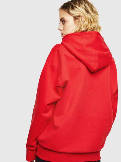 Diesel - S-ALBY-YA, Red - Sweatshirts - Image 4