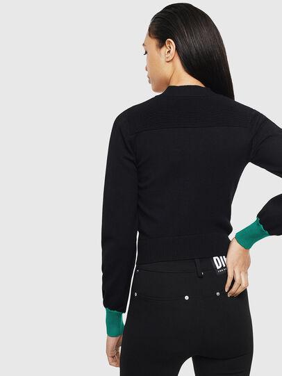 Diesel - M-LANAE, Black - Sweaters - Image 2