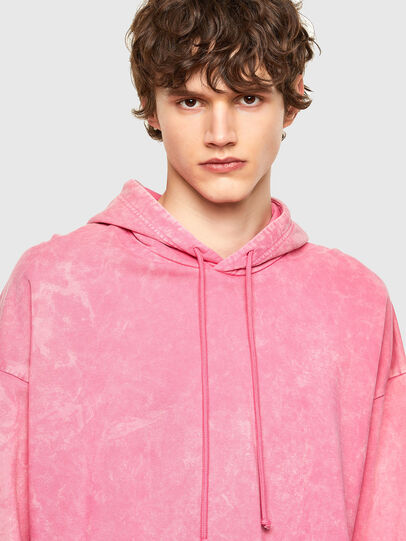 Diesel - S-UMMER-E2, Pink - Sweatshirts - Image 4