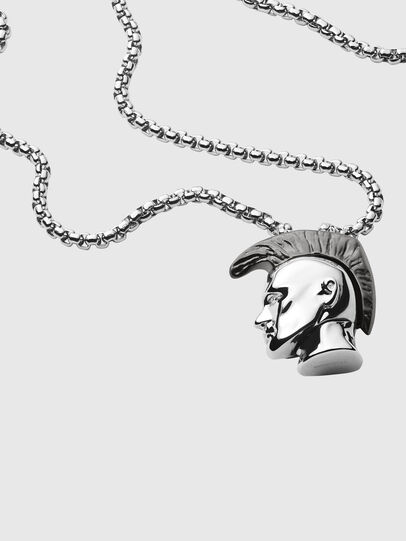 Diesel - DX1253, Silver - Necklaces - Image 2