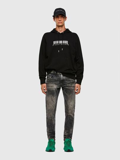 Diesel - S-GIRK-HOOD-X2, Black - Sweatshirts - Image 4