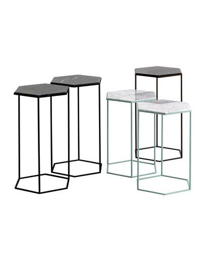 Diesel - HEXXED - SIDE TABLE, Multicolor  - Furniture - Image 1