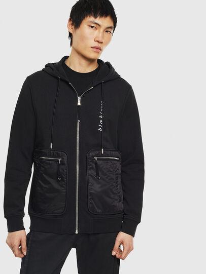 Diesel - S-SKRA, Black - Sweatshirts - Image 1