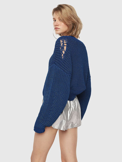 Diesel - M-BABI, Brilliant Blue - Sweaters - Image 2