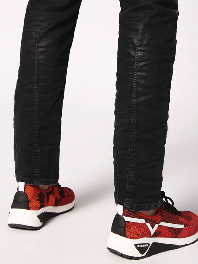 Diesel - Krooley JoggJeans 084JB, Black/Dark grey - Jeans - Image 7