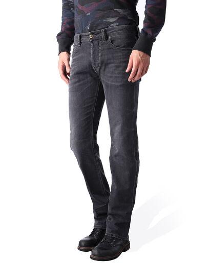 Diesel - Larkee 0669F, Black/Dark Grey - Jeans - Image 3
